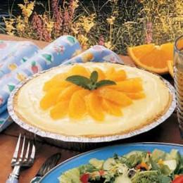 Tangy Mandarin Orange Pie