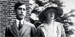 Leonard and Virginia Woolf