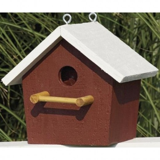 Amish Country Collectible Wooden Birdhouse