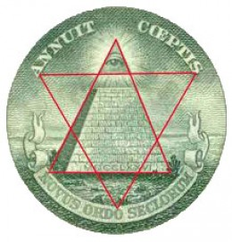 Illuminati symbols are everywhere even on our money