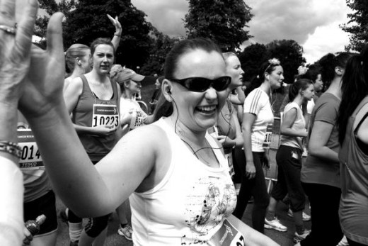 At the start of the 10K