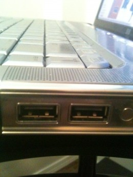 Check the USB ports on your computer to ensure there's nothing in the port that could prevent the computer from recognizing the connected HP printer/scanner.