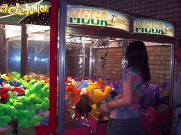 Claw Machines at Pizza Planet