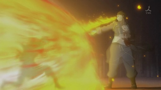 The Flame Alchemist turning the heat up.