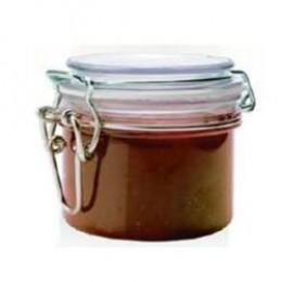 Rubber-rimmed jars like these can be purchased at any craft or homegoods store