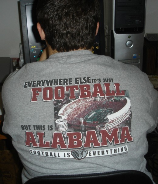 This is Alabama football is everything!