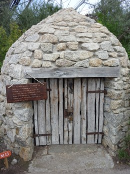 A Provencal 'borrie' or shepherds shelter ... a style of building that dates back to the Bronze Age.