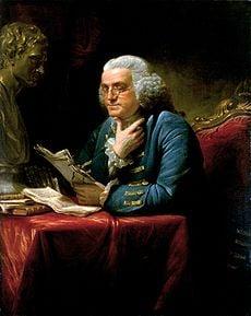 Benjamin Franklin, Jan 17