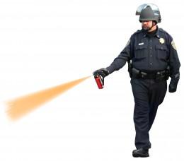 Pepper Spray Cop- cut and paste 'im!