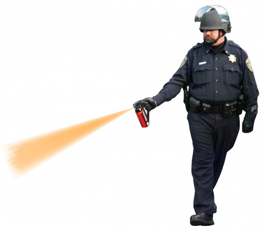 Pepper Spray Cop- cut and paste 'im!