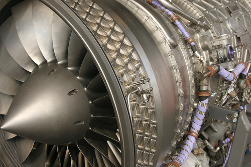 Some aircraft mechanics specialize in jet engines.