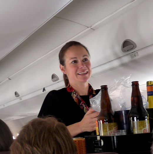 Flight attendants require diplomacy to perform their airline jobs.