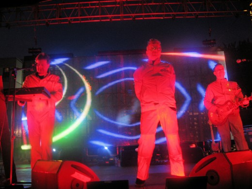 Devo in Des Moines, Iowa, July 24, 2010