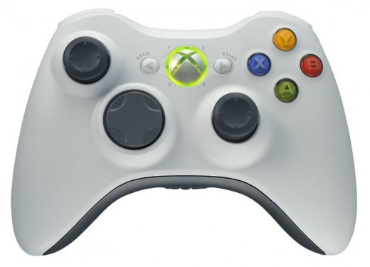 The Microsoft Xbox 360 controller.