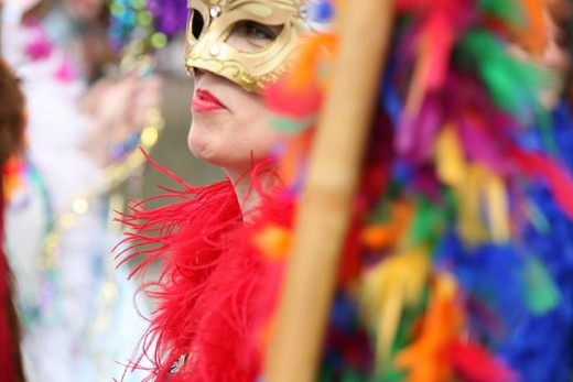 Mardi Gras is a time of festivity before Lent.