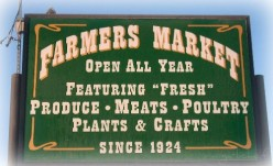 Support local, organic farmers
