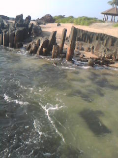 How Beautiful it is to Sit on the rocks and watch the waves