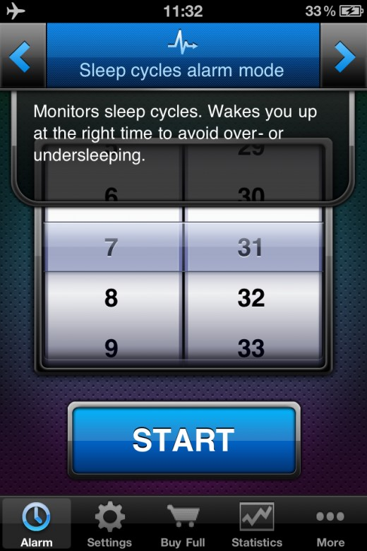 Beautifully designed and simple, this Smart Alarm  clock gives Sleep Cycle a run for their money. The app is currently free