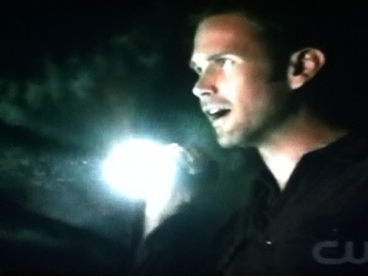 Alaric finds what Mason was looking for in the caves.