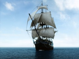 For centuries the Tall Ship dominated the Ocean