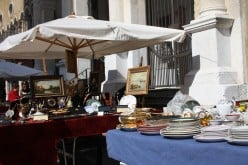 Italian open air markets