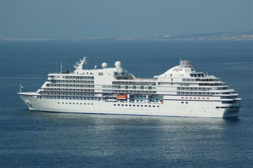 The Emerald Princess from Sorrento