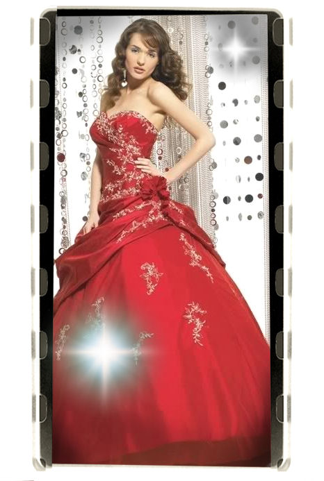 A-Line Sweetheart Red Wedding Dress Ebay