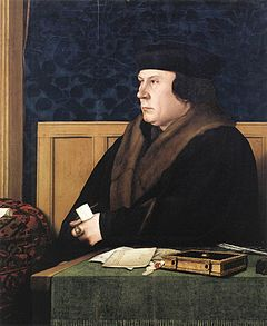Thomas Cromwell a portrait by Hans Holbein the Younger