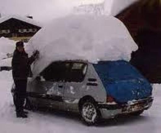 Just a little snow!