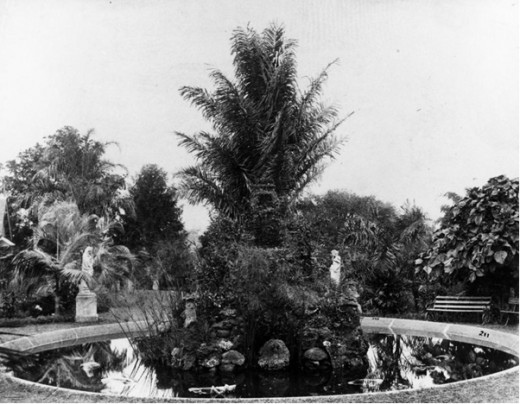Victorian Water Feature Circa 1885.