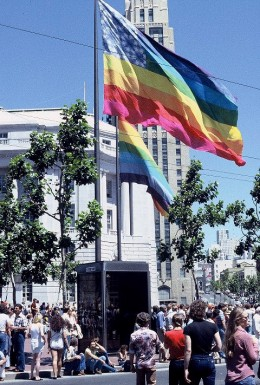 United Nations Plaza, San Francisco, Gay Freedom Day, June 25, 1978