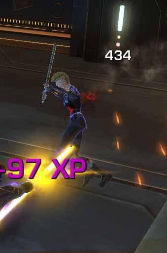 SWTOR Sith Assassin Backstab Maul - at least 300 plus damage