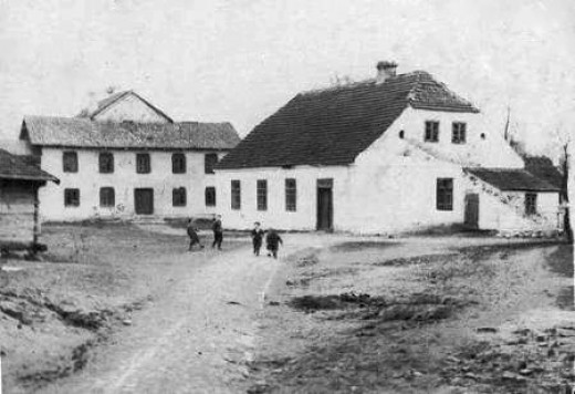 The synagogue in Boćki was destroyed in 1941 just before the rest of the village was liquidated by the Nazis.