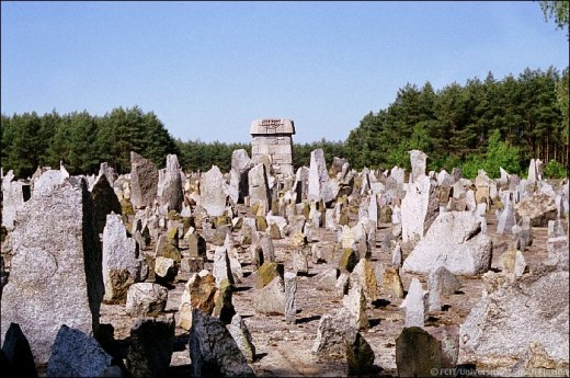 The memorial at Treblinka