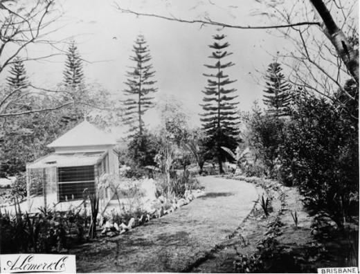 Bowen Park Aviary Circa 1889.