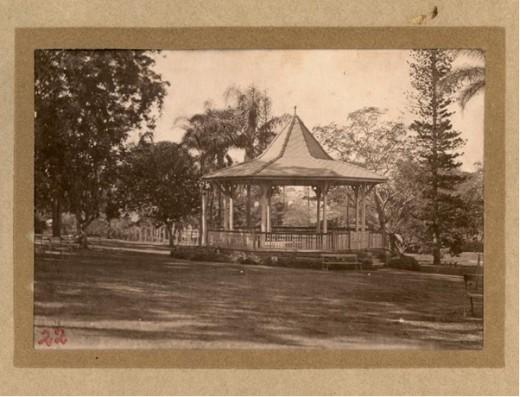 Bandstand at Bowen Park Circa 1919.