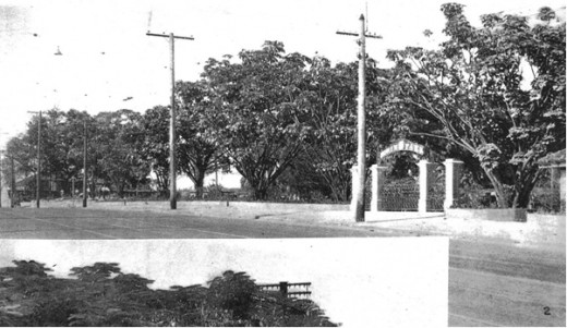 Bowen Bridge Road Entrance During 1940.