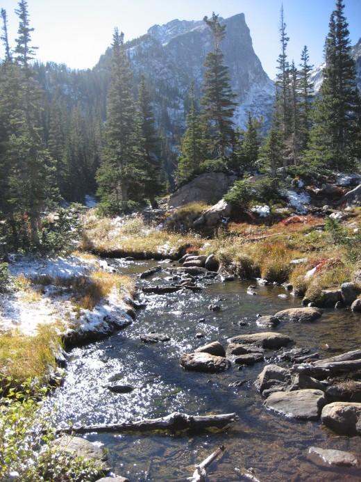 Near Bear Lake, photo by author