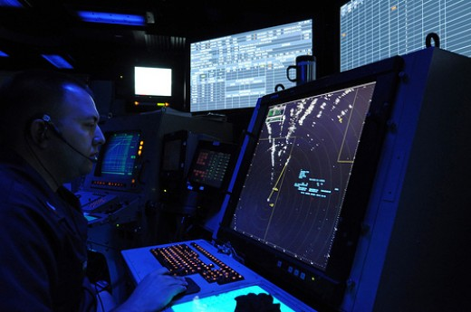 Some air traffic controllers receive their training in the military.