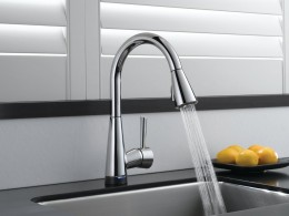 Smart Touch Kitchen Faucet by Brizo