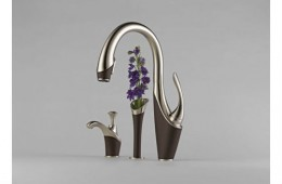 Brizo Kitchen Faucet Inspired by a Swan
