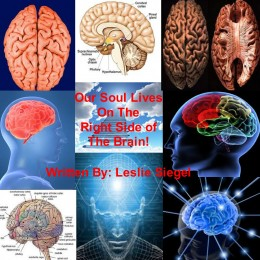 The right side of the brain  houses our soul, not the Solar Plexus as experts first thought!
