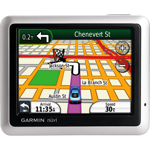 The Garmin nuvi 1100 GPS is the most basic model in the nuvi line,
