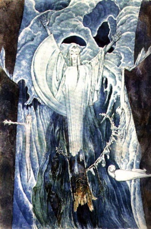 Oskar Klever, The Ice Maiden