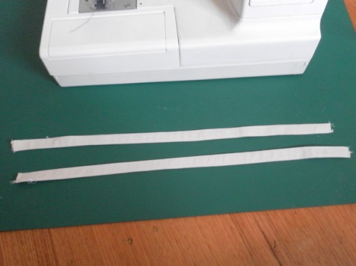 Sew handles.