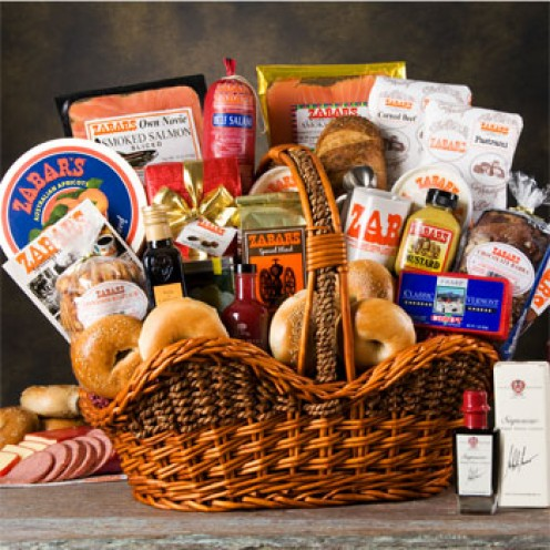 Zabar's ultimate basket.