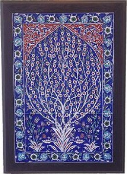 Blue Turkish tiles