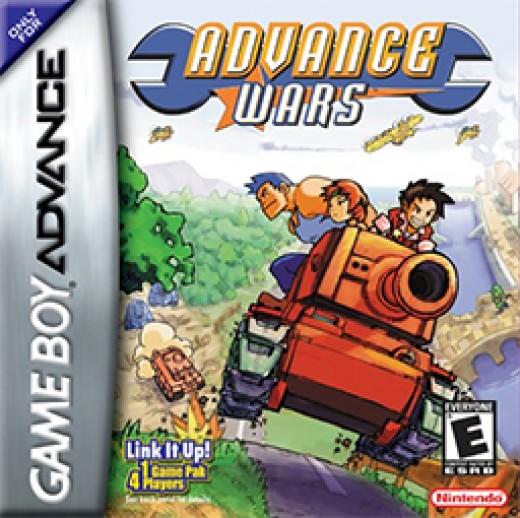 Advance Wars (2001, Game boy Advance)