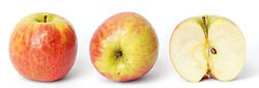 This Australian bred apple is also known as Cripps Pink - but Pink lady sounds nicer :)