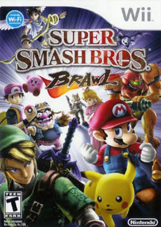 Super Smash Bros. Brawl (2008, Wii)